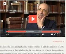 """""""La Sagrada Família és ideològicament i intel·lectualment molt diferent de la que Gaudí hauria fet"""""""